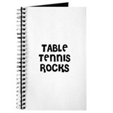 TABLE TENNIS ROCKS Journal