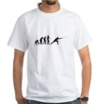 Fencing Evolution White T-Shirt