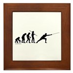 Fencing Evolution Framed Tile
