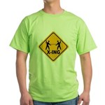 Fencer X-ing Green T-Shirt