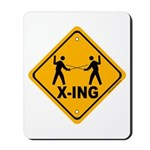 Fencer X-ing Mousepad