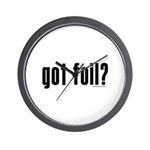 got foil? Wall Clock