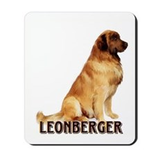 leonberger portrait Mousepad