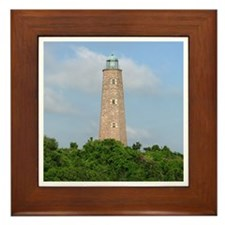 Cape Henry Lighthouse Framed Tile