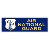 Air National Guard<BR>Bumper Sticker 3