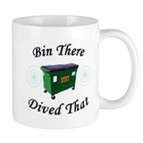 Bin There_Dived That! Small Mugs