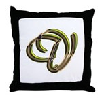 Phyllis Initial V Throw Pillow