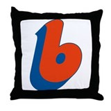 Candice 3D b Throw Pillow