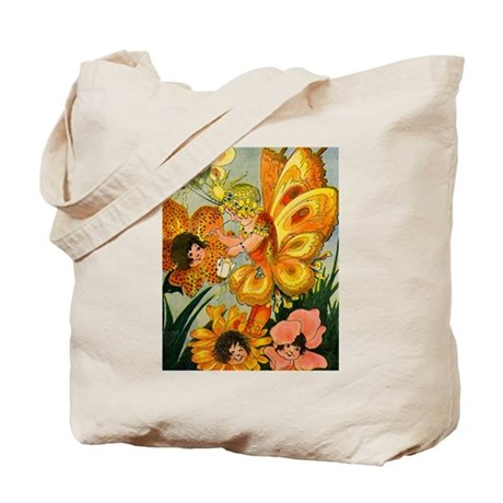 Flower Folk Tote Bag