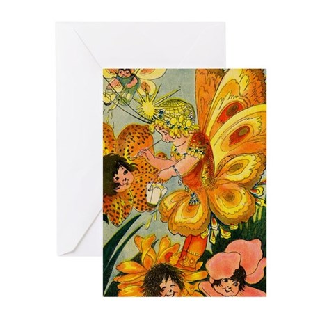 Flower Folk Greeting Cards (Pk of 10)