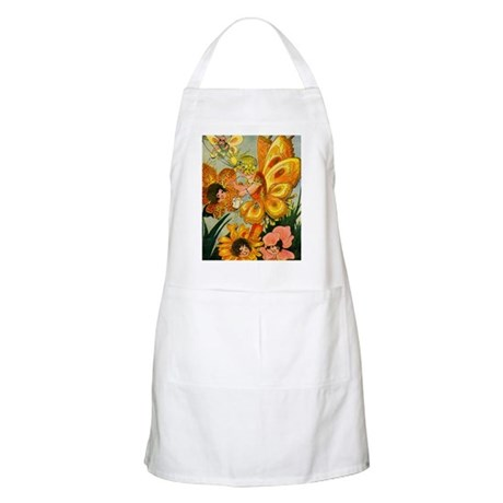 Flower Folk BBQ Apron