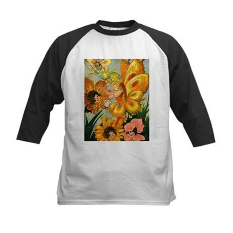 Flower Folk Kids Baseball Jersey