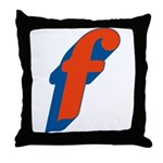 Candice 3D f Throw Pillow