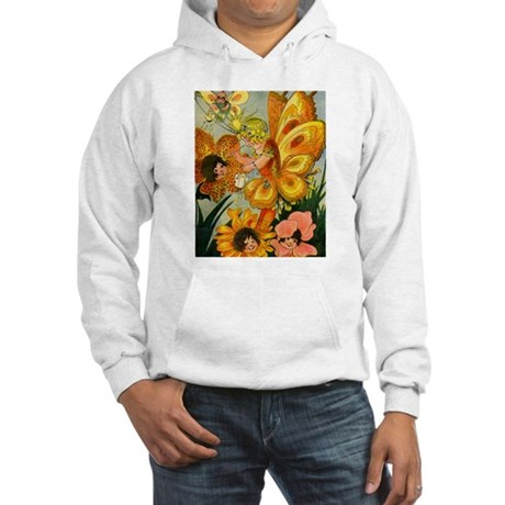 Flower Folk Hooded Sweatshirt