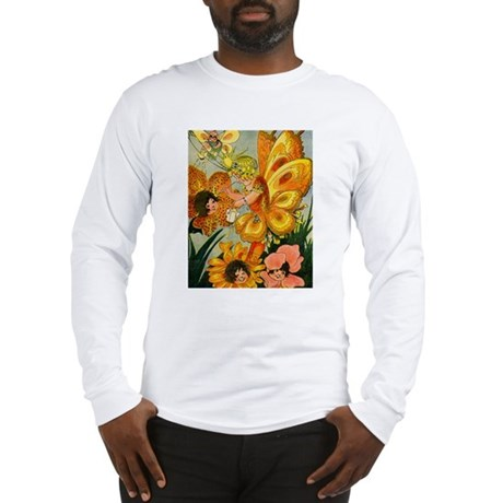 Flower Folk Long Sleeve T-Shirt