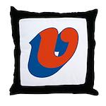 Candice 3D v Throw Pillow