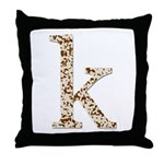 Tortoise Shell k Throw Pillow