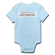Proud Electrician Infant Creeper