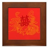 Chinese Wedding Gifts Framed Tile