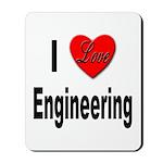I Love Engineering Mousepad
