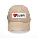 I Love Engineering Cap