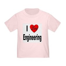 I Love Engineering (Front) T