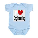 I Love Engineering Infant Creeper