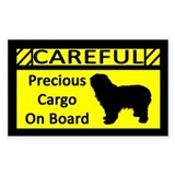 Precious Cargo Polish Lowland Sheepdog Decal