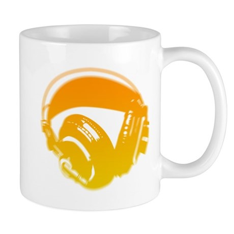 DJ Headphones Mug