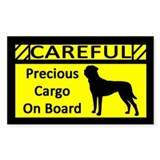 Precious Cargo Japanese Tosa Rectangle Decal