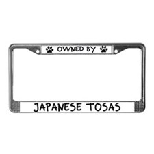 Owned by Japanese Tosas License Plate Frame