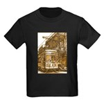 New Orleans Streetcar Named D Kids Dark T-Shirt
