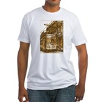 New Orleans Streetcar Named D Fitted T-Shirt