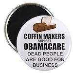 "NOBamaCare - Anti Obama Healt 2.25"" Magnet (1"
