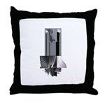 Heavy Metal 1 Throw Pillow