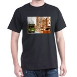 New Orleans Streetcar Named D Dark T-Shirt