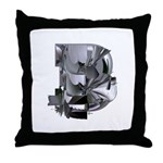 Heavy Metal 3 Throw Pillow