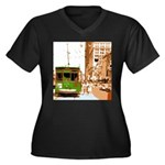 New Orleans Streetcar Named D Women's Plus Size V-