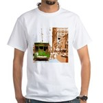New Orleans Streetcar Named D White T-Shirt