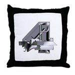 Heavy Metal 4 Throw Pillow
