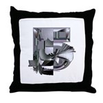 Heavy Metal 5 Throw Pillow