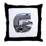 Heavy Metal 6 Throw Pillow