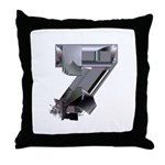Heavy Metal 7 Throw Pillow