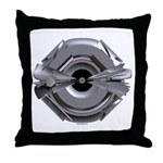 Heavy Metal iconThrow Pillow