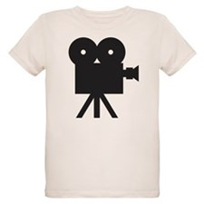 black cine camera hollywood T-Shirt