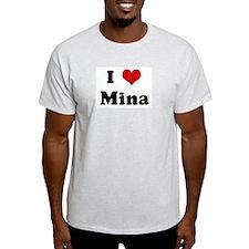 I Love Mina T-Shirt