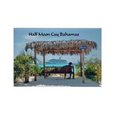 Half Moon Cay Rectangle Magnet
