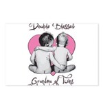 grandma of twins Postcards (Package of 8)