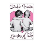grandma of twins Mini Poster Print