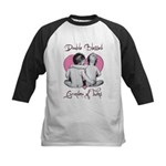 grandma of twins Kids Baseball Jersey